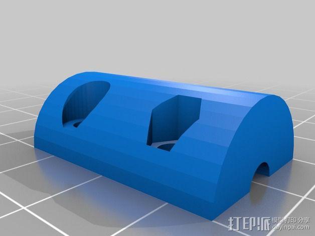 Z轴螺旋杆 3D模型  图1