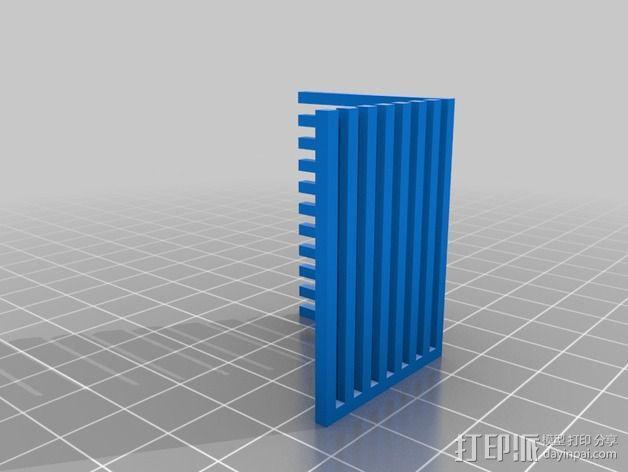 双重挤压校准 3D模型  图2