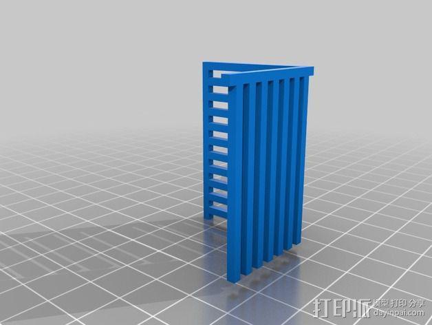 双重挤压校准 3D模型  图3