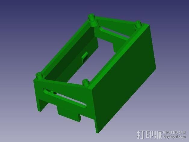 Azteeg X3  3D模型  图3
