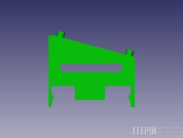 Azteeg X3  3D模型  图6