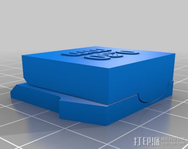 支架 3D模型  图8