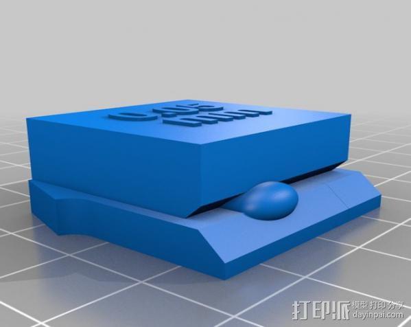支架 3D模型  图9