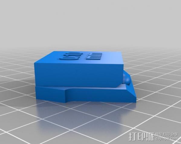 支架 3D模型  图14