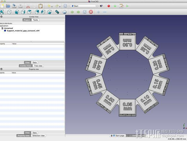 支架 3D模型  图16