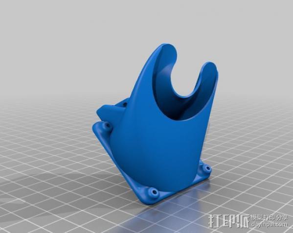 集成喷头 3D模型  图3