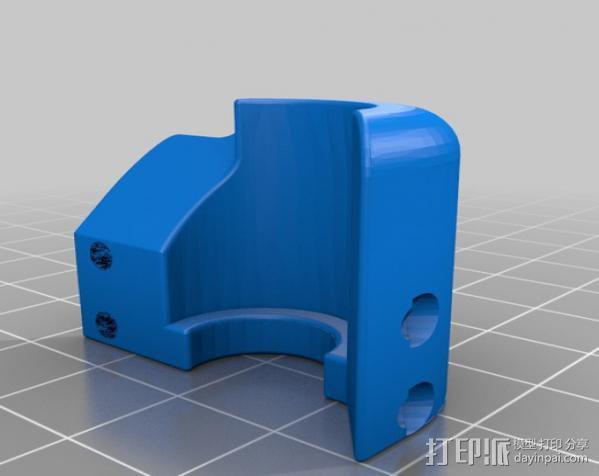 集成喷头 3D模型  图4