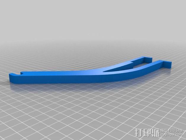 Prusa I3 线轴座 3D模型  图2