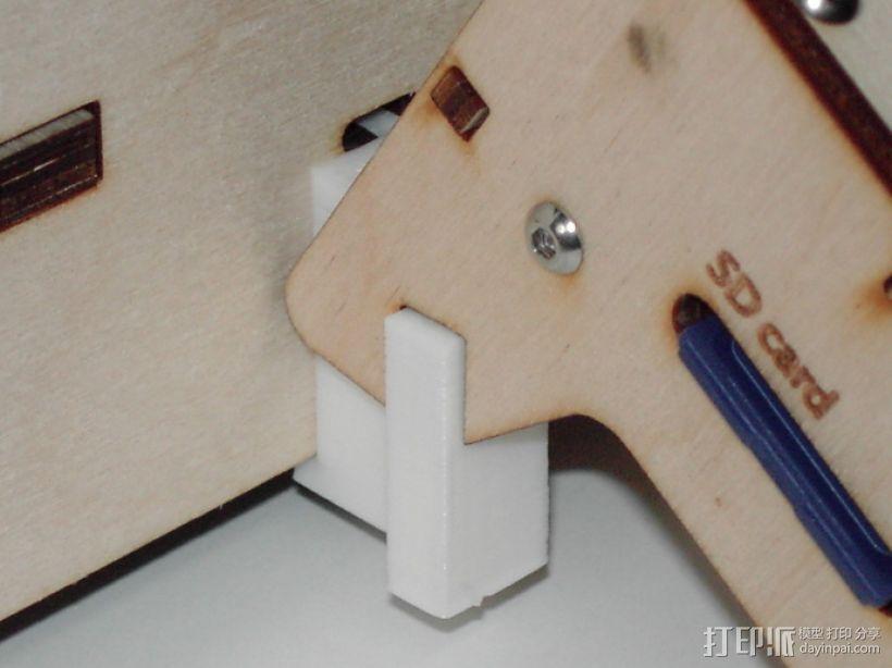 中轴适配器 3D模型  图3
