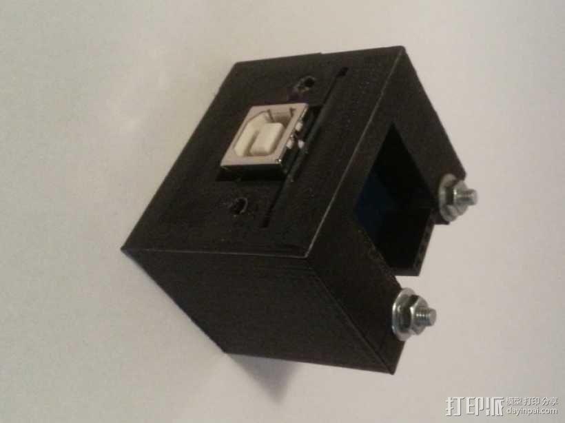 USB支架 3D模型  图1