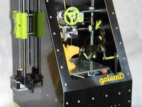3d打印机外壳 3D模型