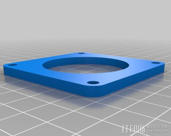 3d打印机外壳 3D模型  图23