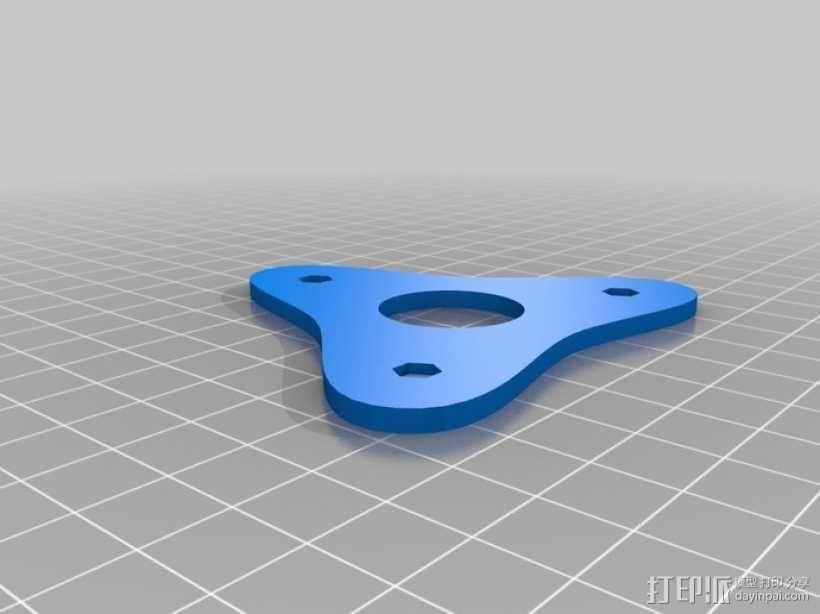 灯丝线轴 3D模型  图4