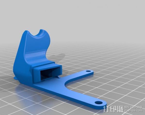 Replicator 2适配器 3D模型  图4