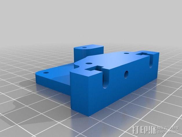 直接驱动挤出器 MK8 3D模型  图2