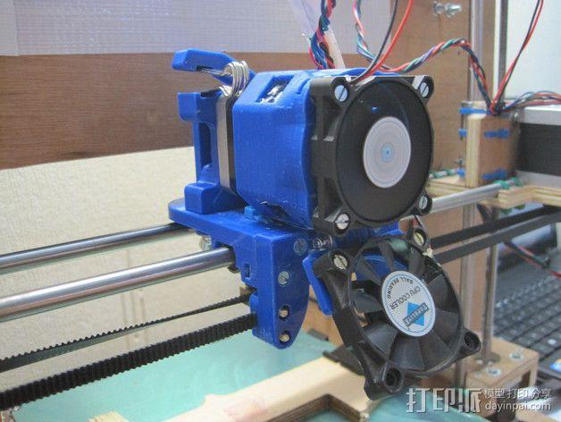 直接驱动挤出器 MK8 3D模型  图4
