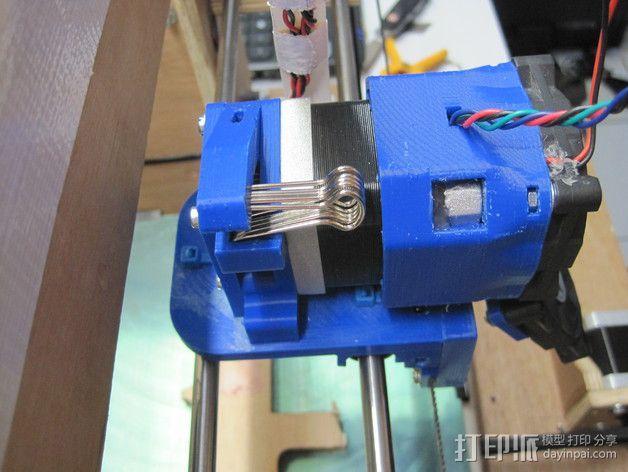 直接驱动挤出器 MK8 3D模型  图3