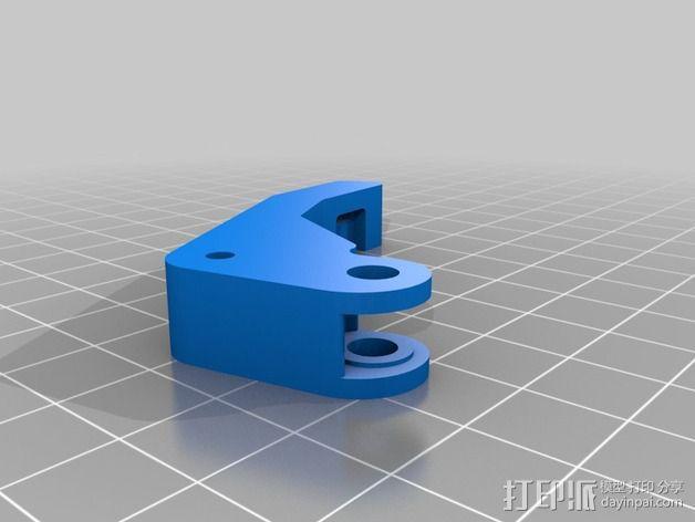 直接驱动挤出器 MK8 3D模型  图7