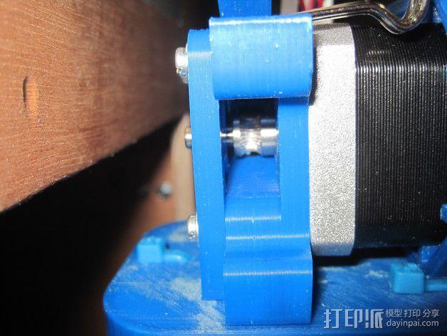直接驱动挤出器 MK8 3D模型  图5