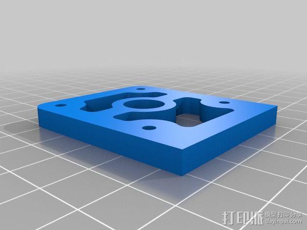直接驱动挤出器 MK8 3D模型  图9