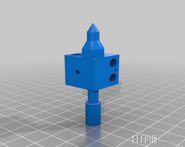 3D打印机适配器 3D模型  图5