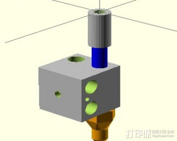 3D打印机适配器 3D模型  图6