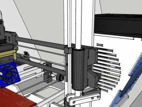 Z轴适配器 3D模型