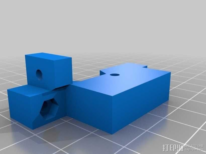 Z轴适配器 3D模型  图2