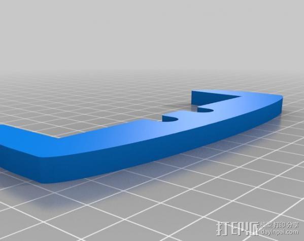 Replicator 2X适配器 3D模型  图2