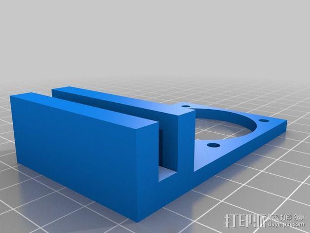 冷风扇支架 3D模型  图1