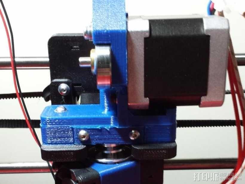 Vert-Xtruder驱动器 3D模型  图1