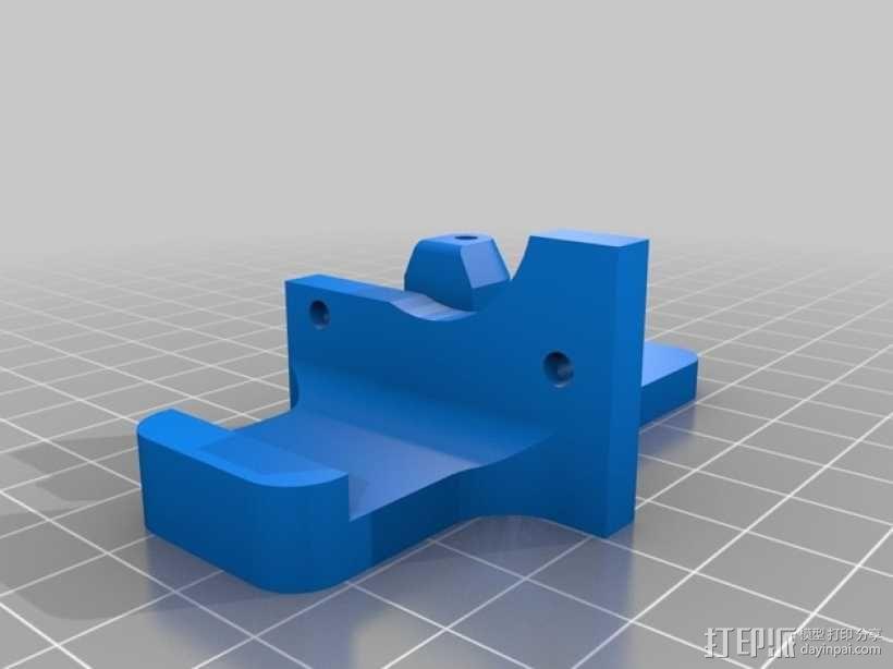 Vert-Xtruder驱动器 3D模型  图2