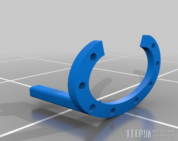 3D打印控制环 3D模型  图1