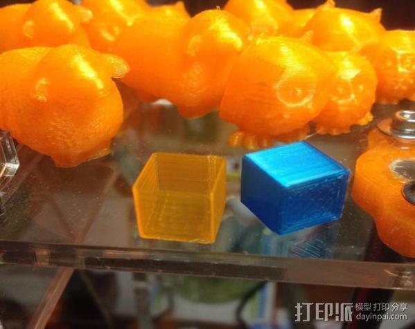 校准模块 3D模型  图1