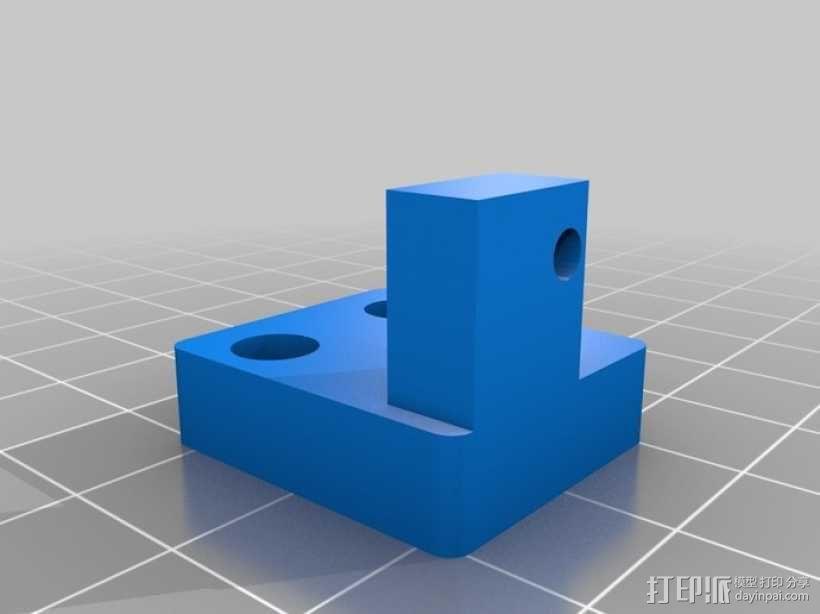 Z轴固定器 3D模型  图2
