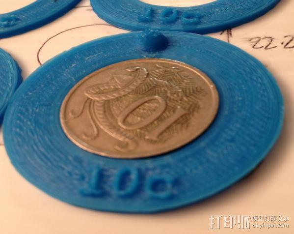 10c圆环 3D模型  图3