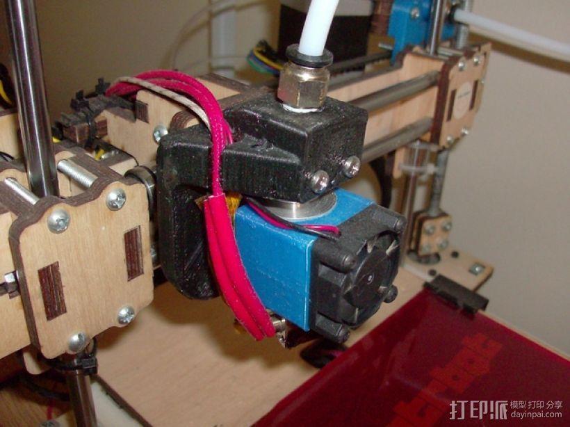 E3D 适配器 3D模型  图1