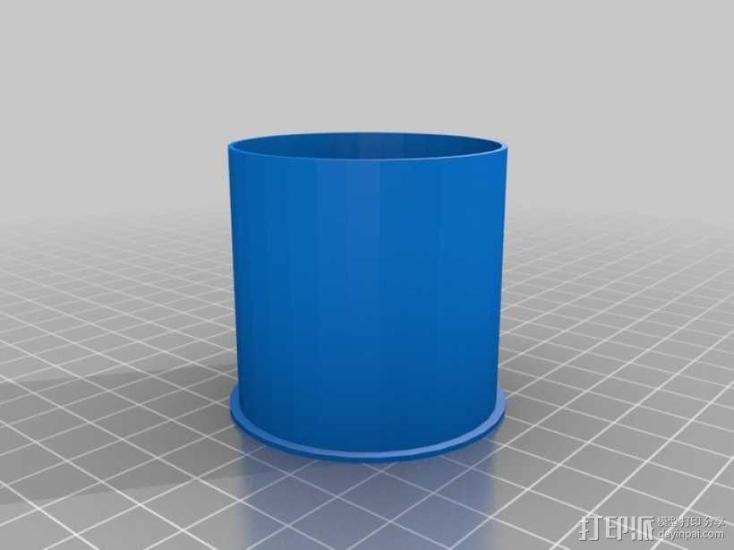 打印机齿轮 3D模型  图3