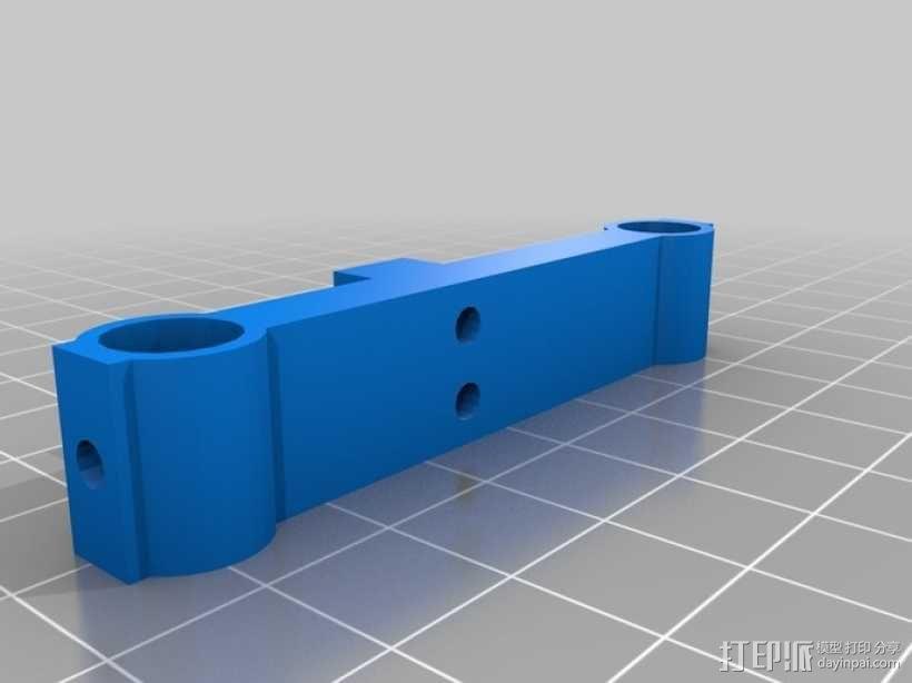 打印机齿轮 3D模型  图2