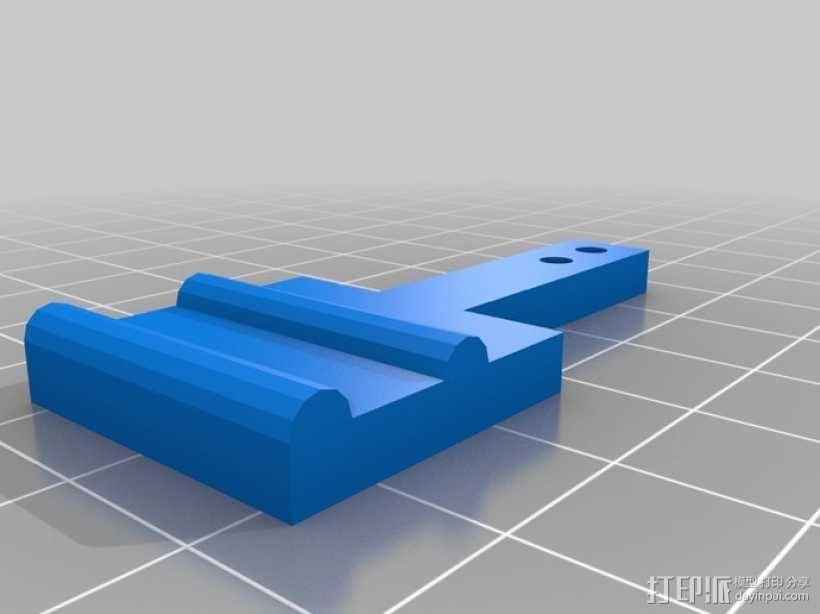 打印机齿轮 3D模型  图4
