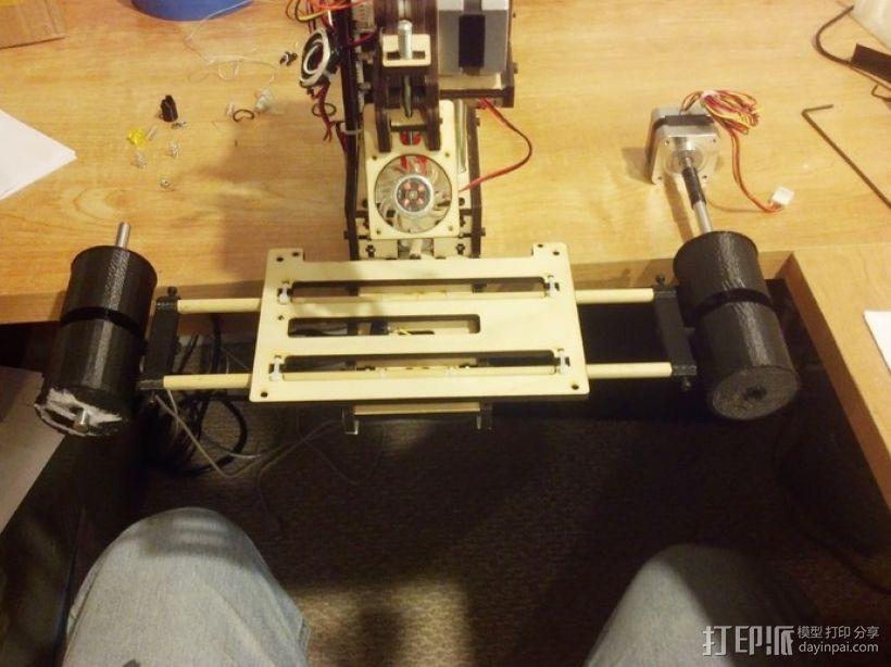 打印机齿轮 3D模型  图5