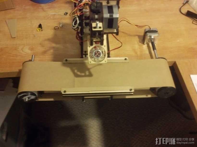 打印机齿轮 3D模型  图7