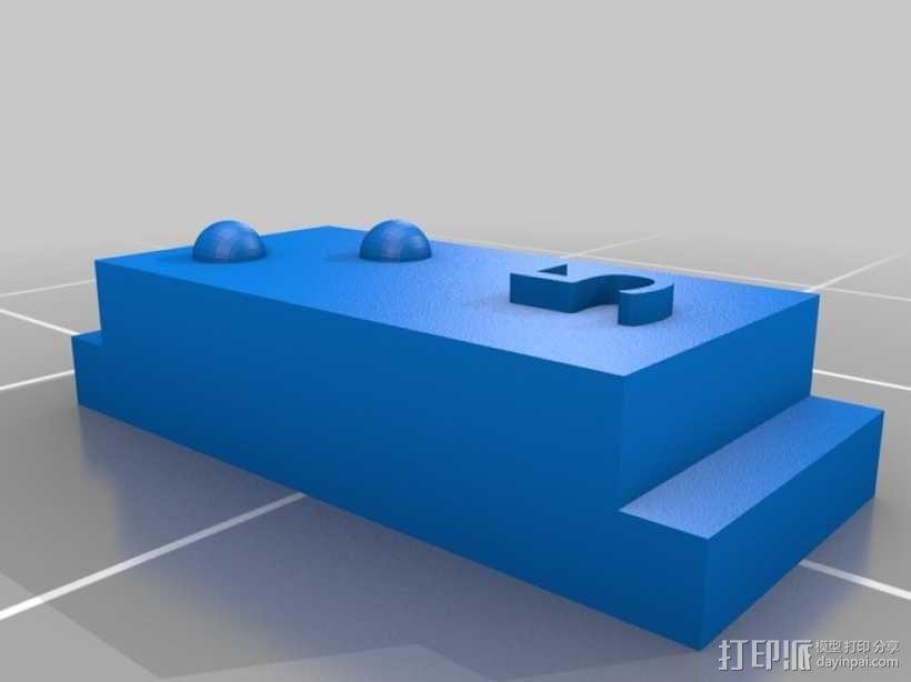 盲文 3D模型  图2