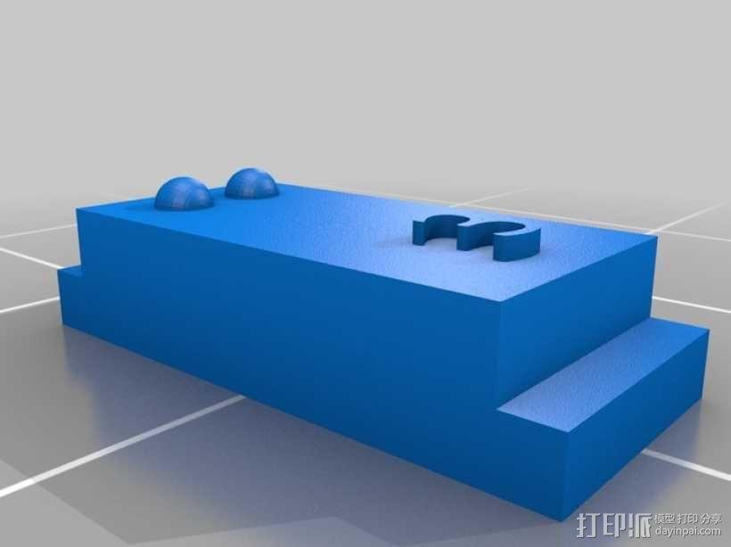 盲文 3D模型  图4