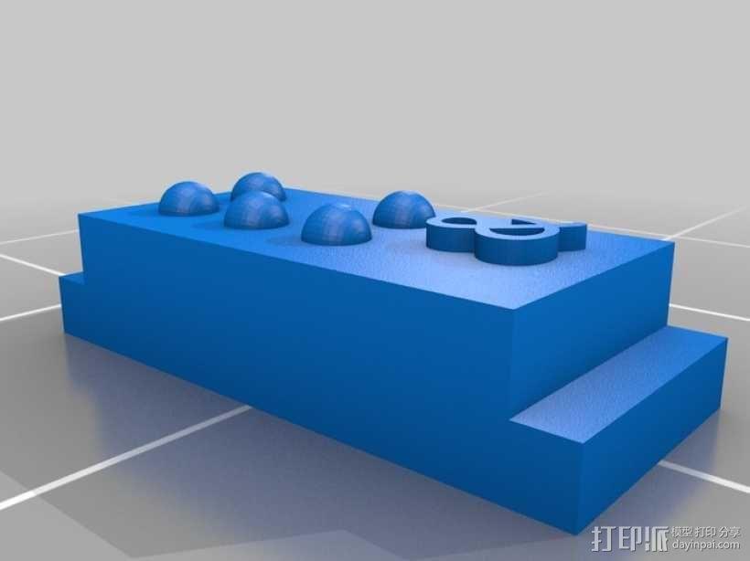 盲文 3D模型  图13