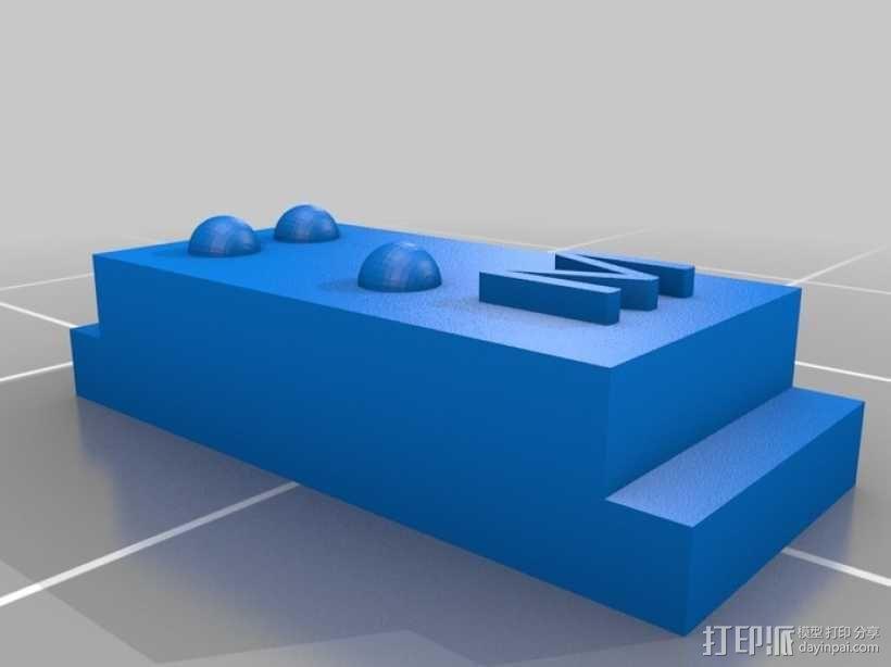 盲文 3D模型  图37