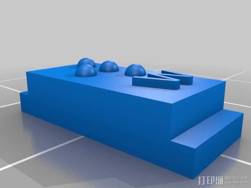 盲文 3D模型  图44
