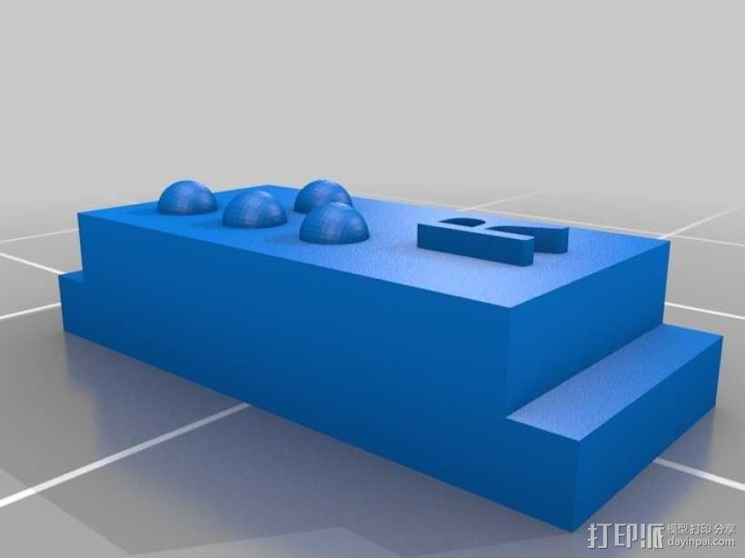 盲文 3D模型  图45
