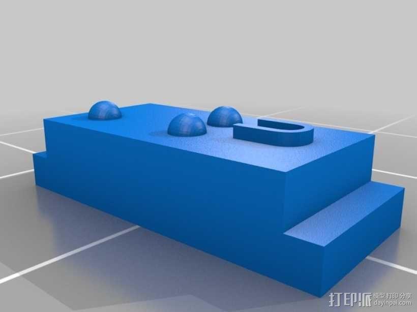 盲文 3D模型  图46