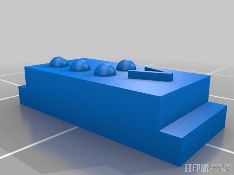 盲文 3D模型  图49